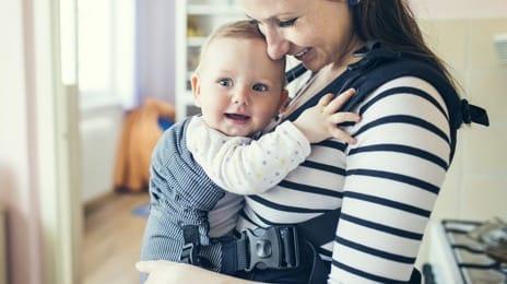 Baby wrap carriers, slings, backpacks