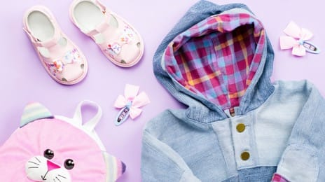 Children clothes and shoes
