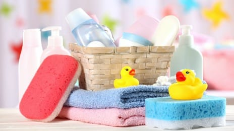Hygiene products and child care