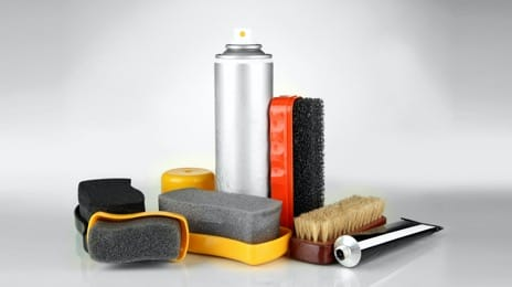 Shoe care supplies and fabric care kits