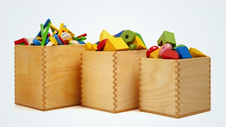 Toy boxes and baskets