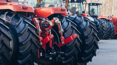 Agricultural machinery spare parts and components