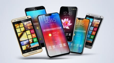 Smartphones and mobile phones