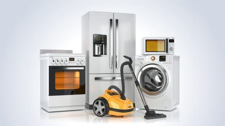 Major domestic appliances